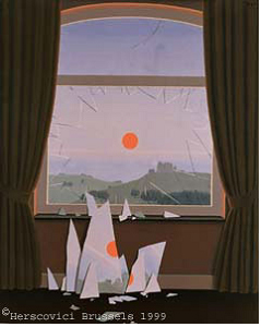 Magritte - Evening Falls